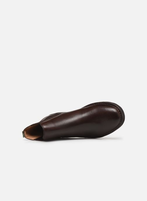 Bottines et boots Polo Ralph Lauren Talan Chlsea - Smooth Leather Marron vue gauche