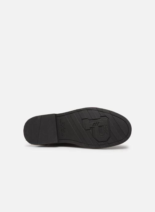 Bottines et boots Polo Ralph Lauren Talan Chlsea - Smooth Leather Marron vue haut