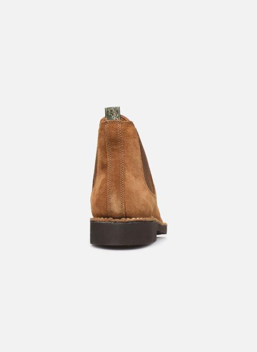 Bottines et boots Polo Ralph Lauren Talan Chlsea  Suede Marron vue droite