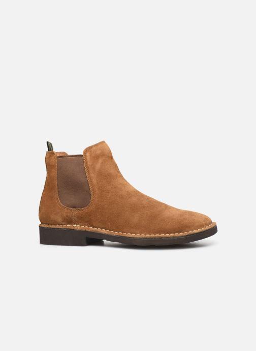 Stiefeletten & Boots Polo Ralph Lauren Talan Chlsea  Suede braun ansicht von hinten