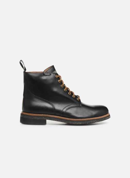 Ankle boots Polo Ralph Lauren RL Army BT Smooth Leather Black back view