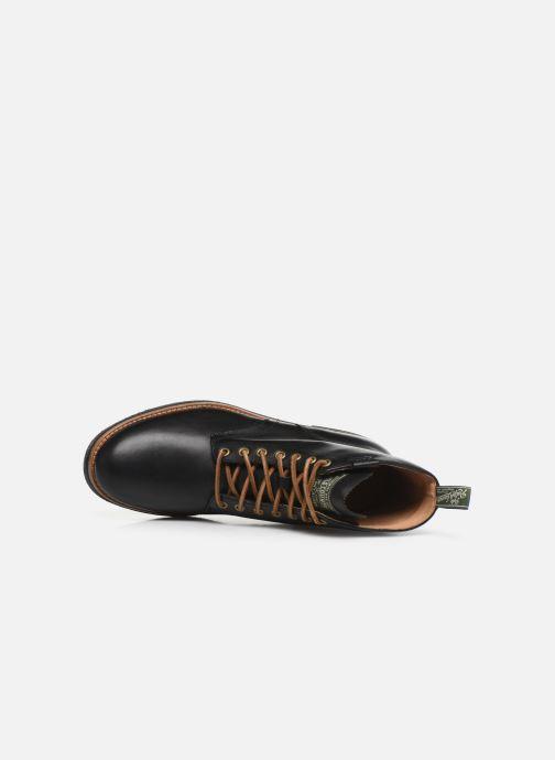 Bottines et boots Polo Ralph Lauren RL Army BT Smooth Leather Noir vue gauche