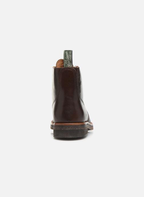 Bottines et boots Polo Ralph Lauren RL Army BT Smooth Leather Marron vue droite