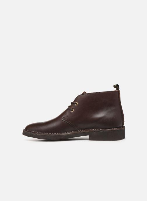 Bottines et boots Polo Ralph Lauren Talan Chukka Smooth Leather Marron vue face