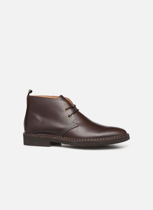 Bottines et boots Polo Ralph Lauren Talan Chukka Smooth Leather Marron vue derrière