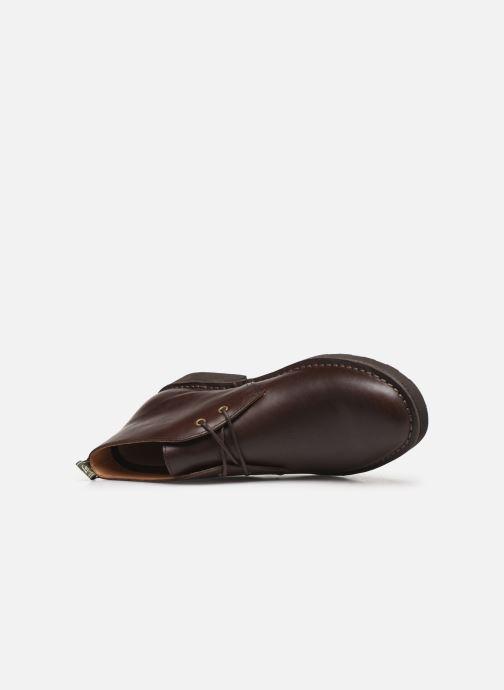 Bottines et boots Polo Ralph Lauren Talan Chukka Smooth Leather Marron vue gauche