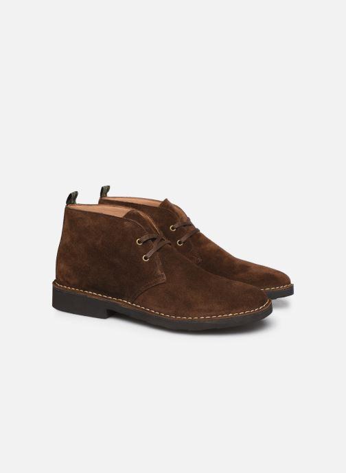 Bottines et boots Polo Ralph Lauren Talan Chukka Suede Marron vue 3/4