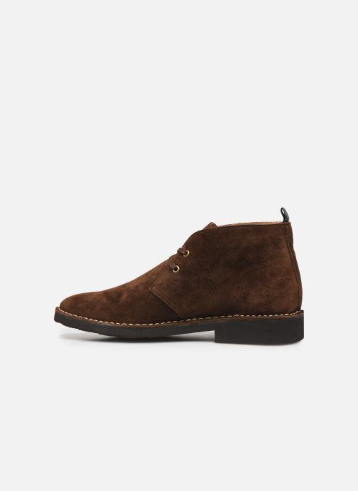 Stiefeletten & Boots Polo Ralph Lauren Talan Chukka Suede braun ansicht von vorne