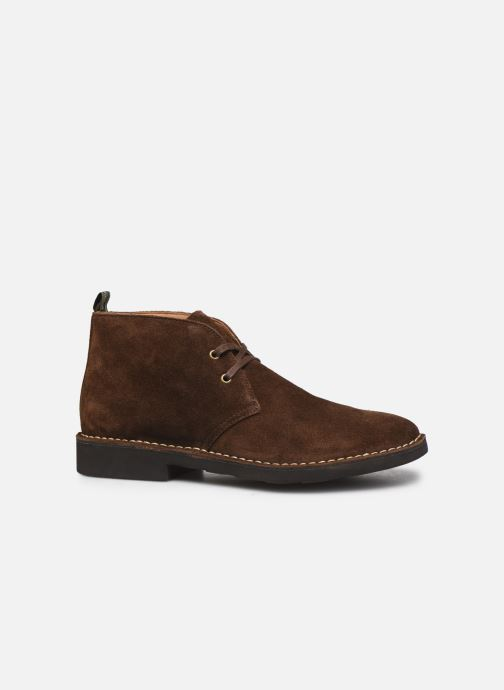 Ankle boots Polo Ralph Lauren Talan Chukka Suede Brown back view