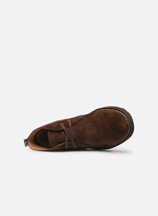 Bottines et boots Polo Ralph Lauren Talan Chukka Suede Marron vue gauche