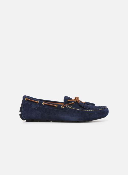 Mocassins Polo Ralph Lauren Anders Loafr- Suede Bleu vue derrière