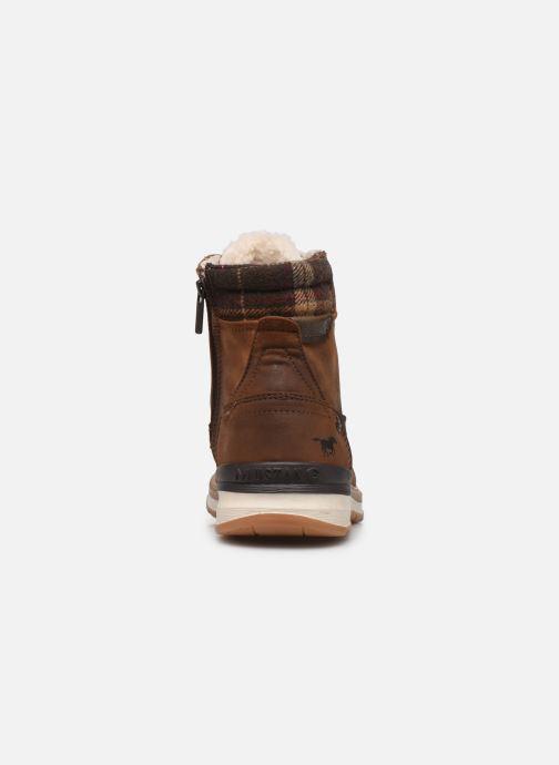 Bottines et boots Mustang shoes Tom Marron vue droite