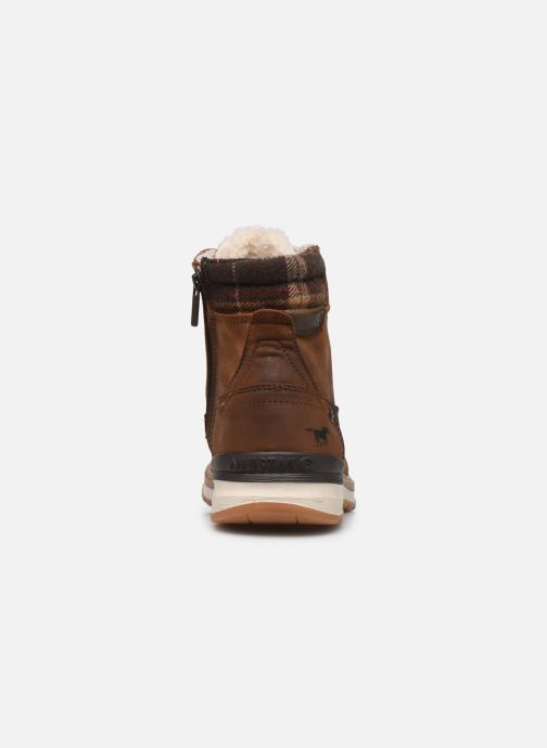 Stivaletti e tronchetti Mustang shoes Tom Marrone immagine destra