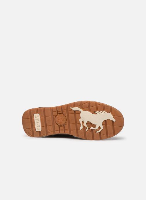 Bottines et boots Mustang shoes Tom Marron vue haut