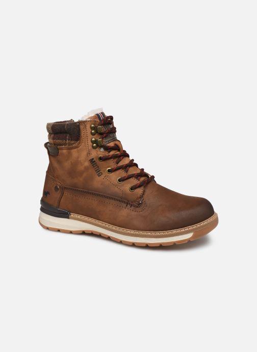 Bottines et boots Mustang shoes Tom Marron vue détail/paire