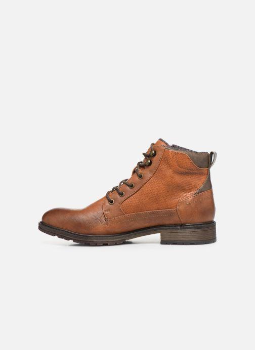 Bottines et boots Mustang shoes Anton Marron vue face