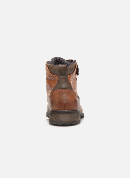Ankle boots Mustang shoes Anton Brown view from the right