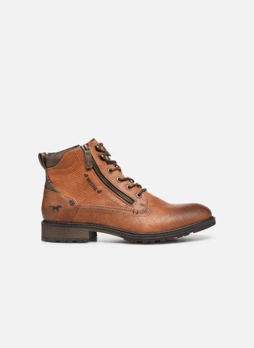 Bottines et boots Mustang shoes Anton Marron vue derrière