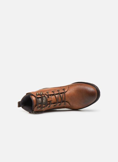 Stivaletti e tronchetti Mustang shoes Anton Marrone immagine sinistra