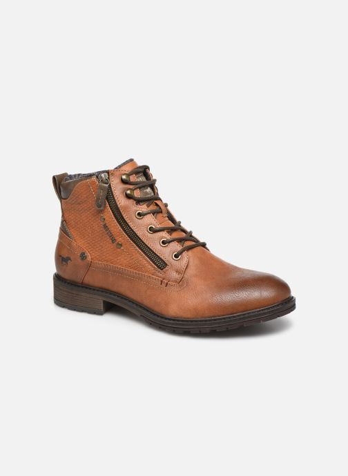 Ankle boots Mustang shoes Anton Brown detailed view/ Pair view