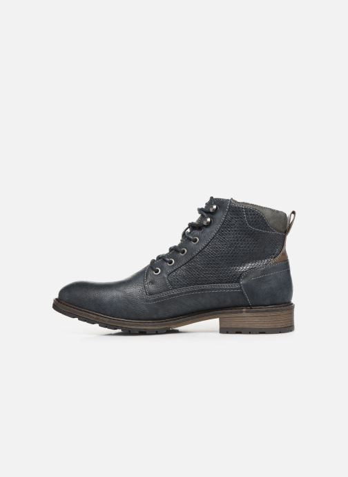 Bottines et boots Mustang shoes Anton Bleu vue face
