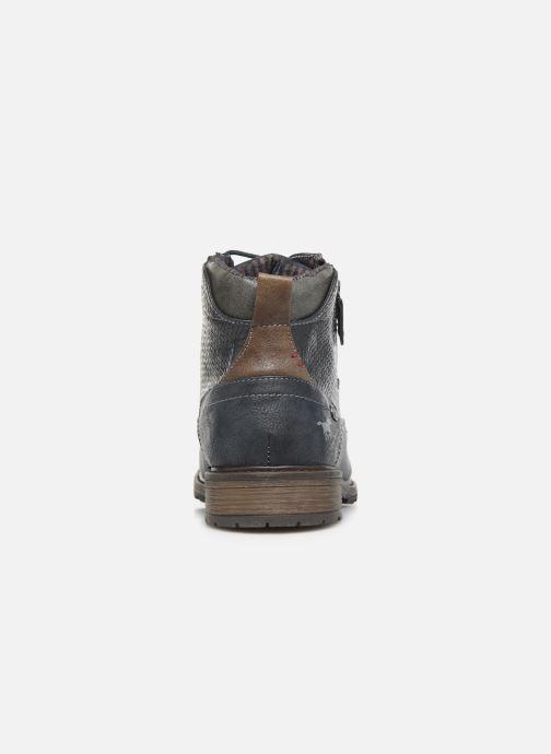 Bottines et boots Mustang shoes Anton Bleu vue droite