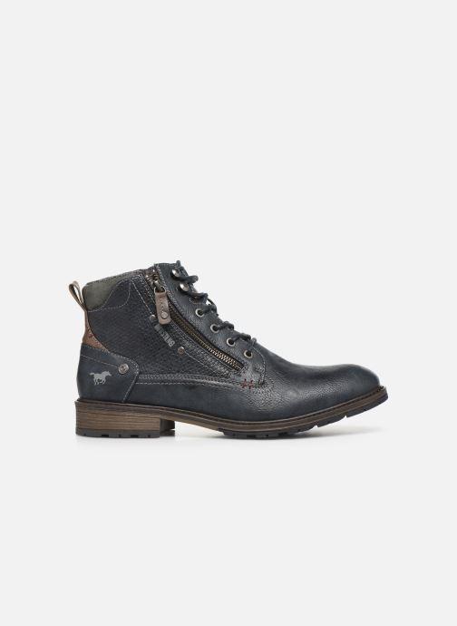 Bottines et boots Mustang shoes Anton Bleu vue derrière