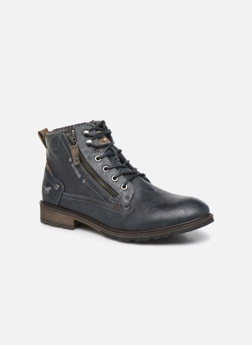 Ankle boots Mustang shoes Anton Blue detailed view/ Pair view
