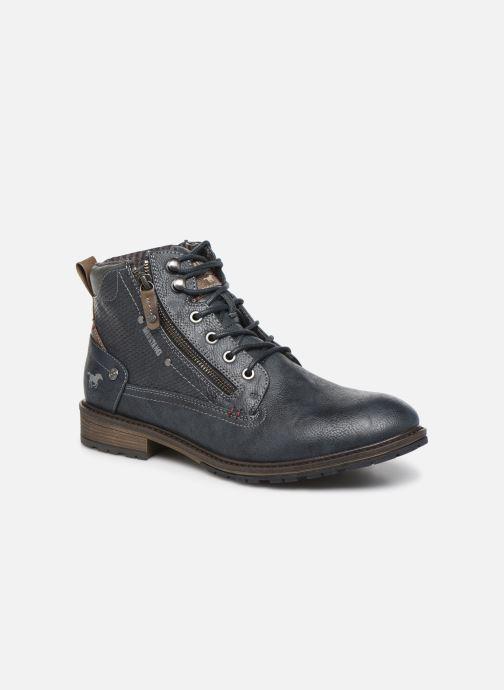 Bottines et boots Mustang shoes Anton Bleu vue détail/paire