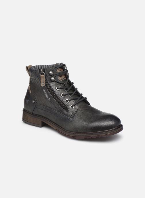 Bottines et boots Mustang shoes Anton Gris vue détail/paire