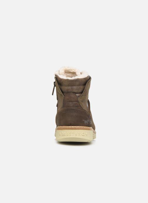 Bottines et boots Mustang shoes Steev Marron vue droite