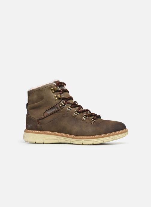 Bottines et boots Mustang shoes Steev Marron vue derrière