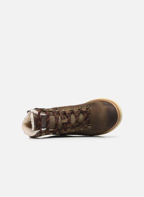 Stivaletti e tronchetti Mustang shoes Steev Marrone immagine sinistra