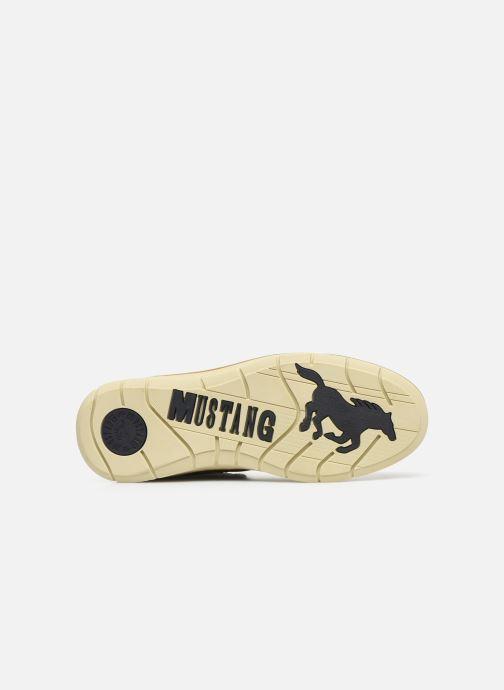 Bottines et boots Mustang shoes Steev Marron vue haut