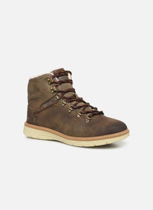 Boots en enkellaarsjes Mustang shoes Steev Bruin detail