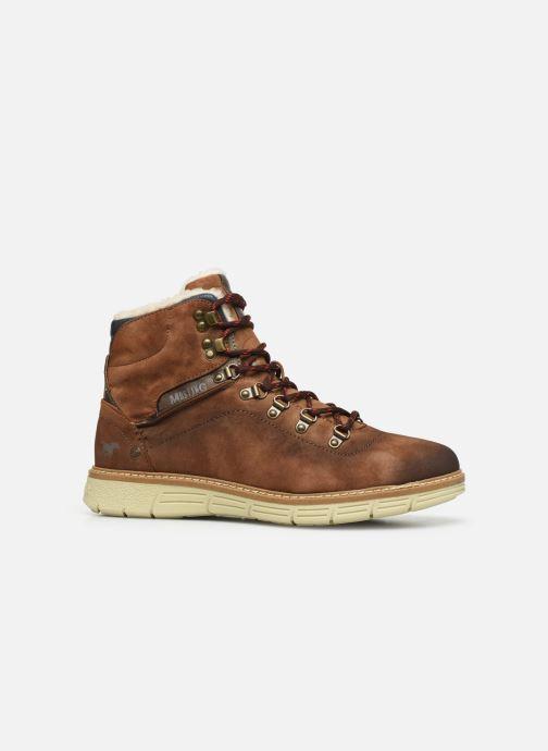 Boots en enkellaarsjes Mustang shoes Steev Bruin achterkant