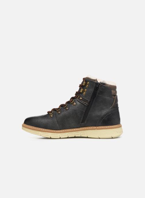 Bottines et boots Mustang shoes Dan Marron vue face