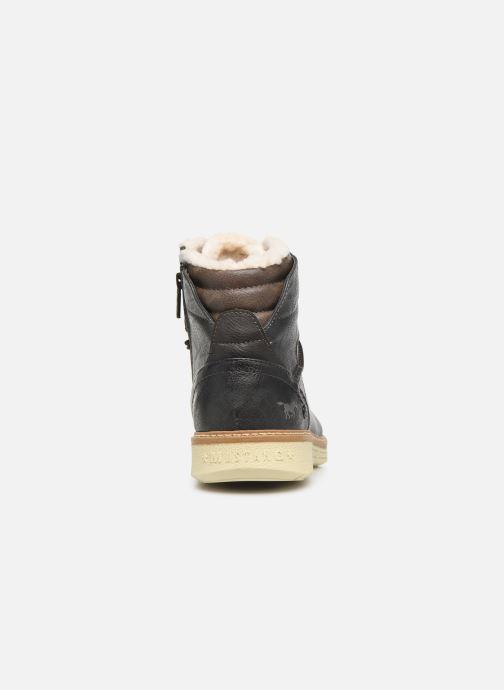 Stivaletti e tronchetti Mustang shoes Dan Marrone immagine destra