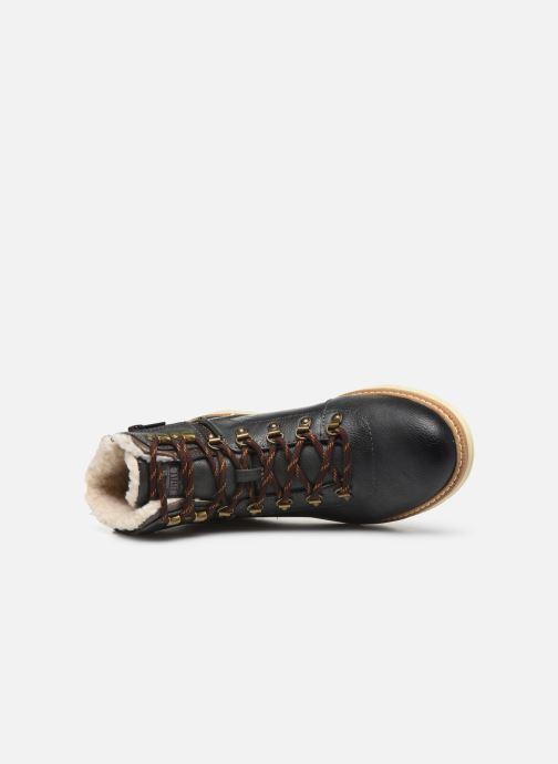 Stivaletti e tronchetti Mustang shoes Dan Marrone immagine sinistra