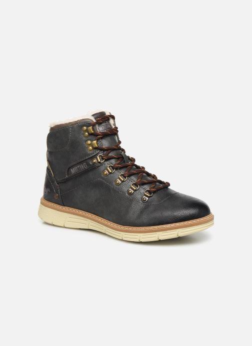 Bottines et boots Mustang shoes Dan Marron vue détail/paire