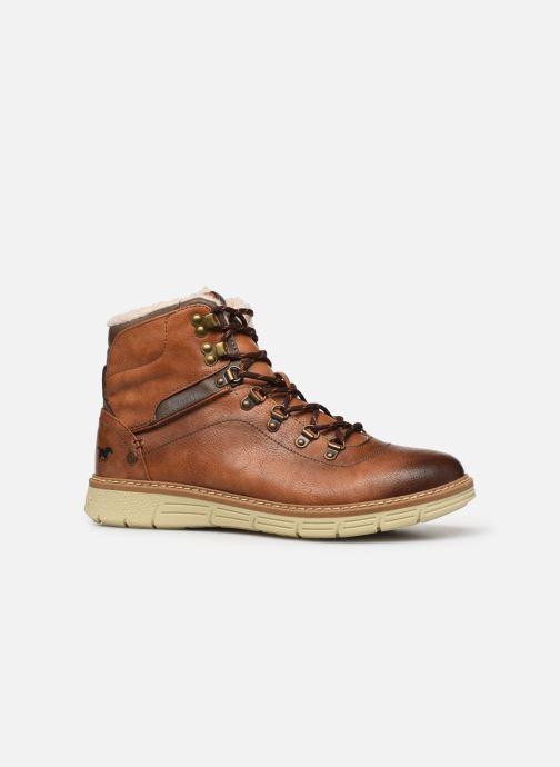 Bottines et boots Mustang shoes Dan Marron vue derrière