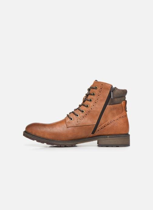 Bottines et boots Mustang shoes Rob Marron vue face
