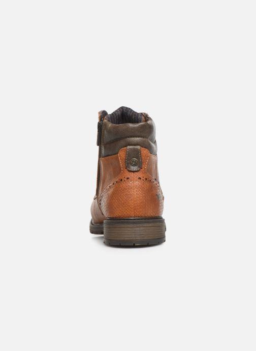 Bottines et boots Mustang shoes Rob Marron vue droite
