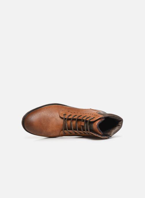 Bottines et boots Mustang shoes Rob Marron vue gauche