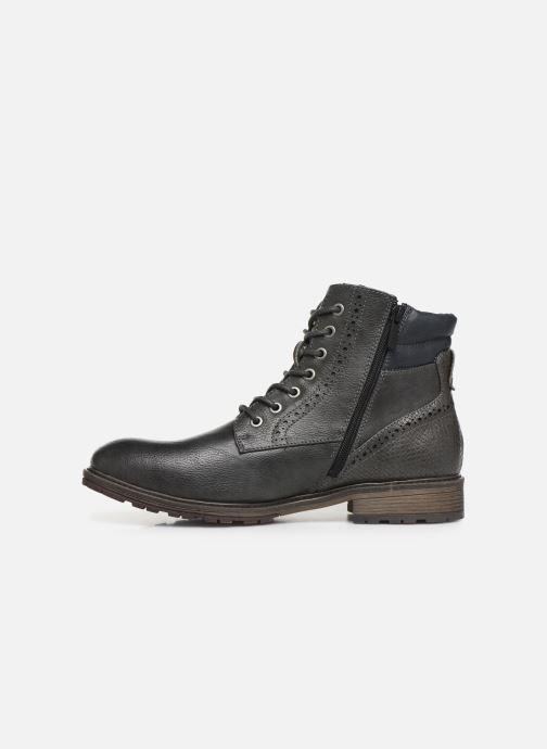 Bottines et boots Mustang shoes Rob Gris vue face