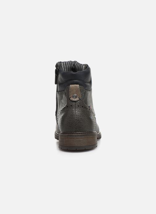 Bottines et boots Mustang shoes Rob Gris vue droite