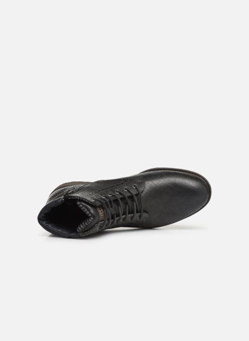 Bottines et boots Mustang shoes Rob Gris vue gauche