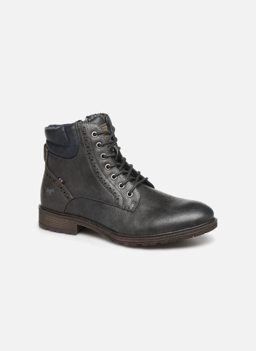 Bottines et boots Mustang shoes Rob Gris vue détail/paire