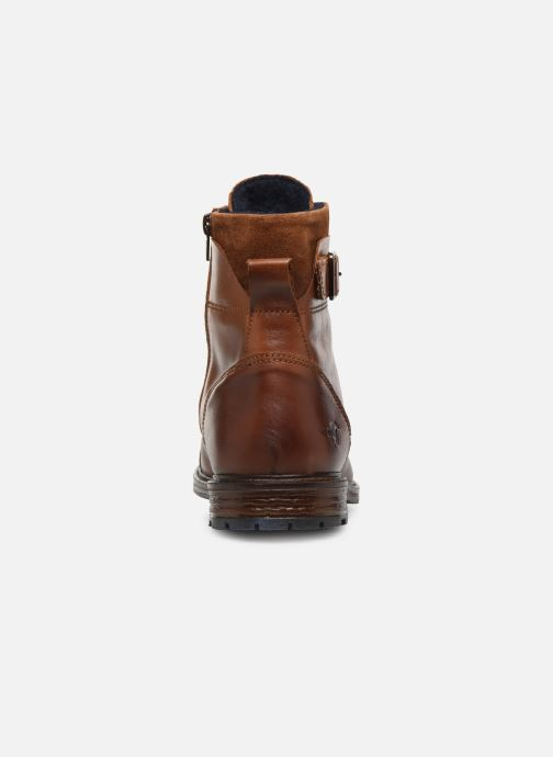 Bottines et boots Mustang shoes Tony Marron vue droite