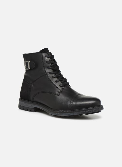 Bottines et boots Mustang shoes Stan Noir vue détail/paire